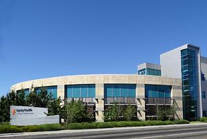 Exterior of St. Joseph's Medical Center