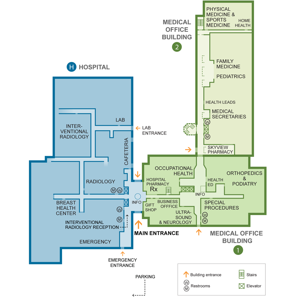 Richmond Medical Center - Campus Map - Kaiser Permanente ...