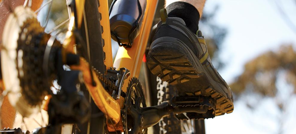 sneaker bike yellow