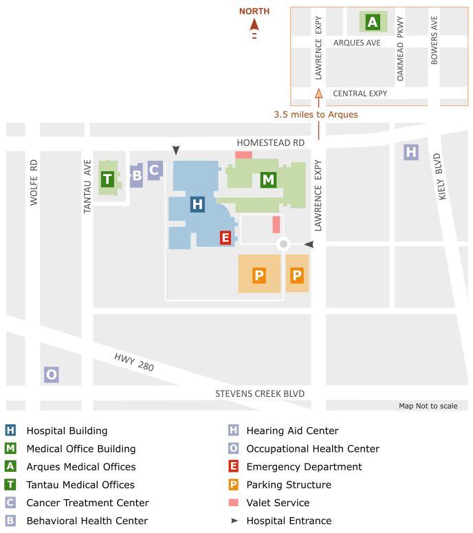 Kaiser Fontana New Hospital Building Directory