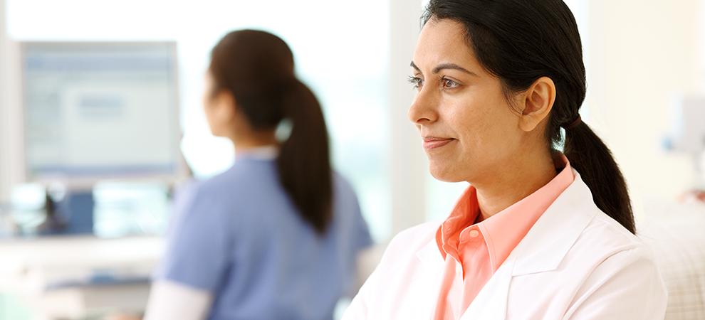 Nephrology doctor focus