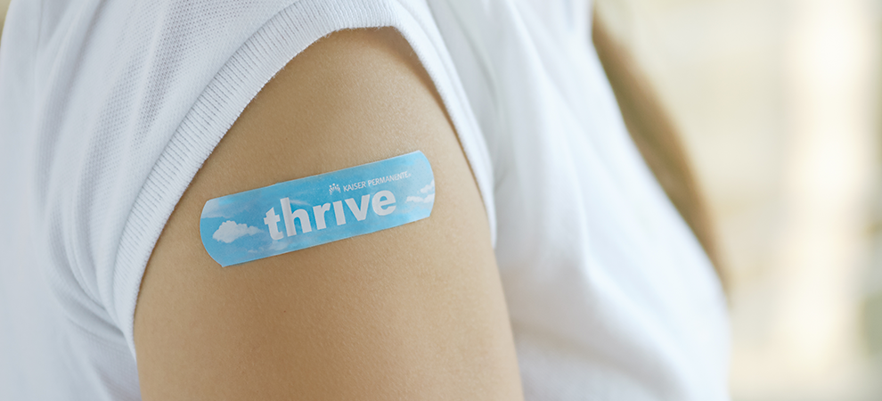 Travel Clinic Injection Clinic thrive bandaid
