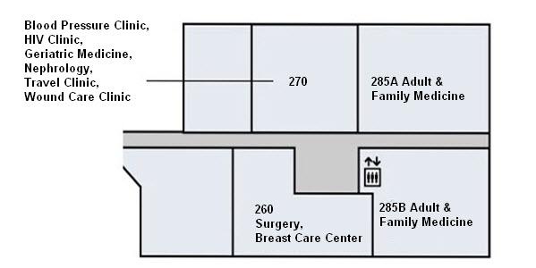 Kaiser Santa Rosa Campus Map.Snap Santa Rosa Hospital Medical Office Buildings 1 2 Campus Map