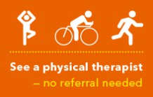 No-referral physical therapy appointments