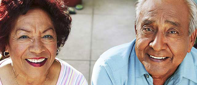 Healthy Senior Couple Kaiser Permanente in Downey
