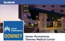 Like Downey Medical Center on Facebook