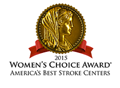Logo for KP Downey Best Stroke Care by Women's Choice
