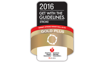 Gold Plus Get with the Guidelines logo