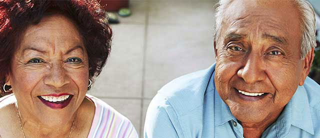 Smiling Senior Couple Kern County Kaiser Permanente