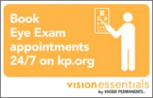 Schedule an eye exam with the Vision Essentials plan