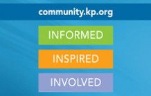 Visit community.kp.org for health tips and information so you can Thrive