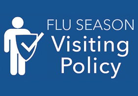 We are restricting visits in our hospital during flu season.