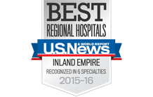 "U.S. News & World Report Ranks Fontana Medical Center #1 In the Inland Empire ""Metro Area"""
