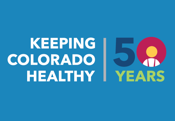 Image of Keeping Colorado Healthy 50 Years logo