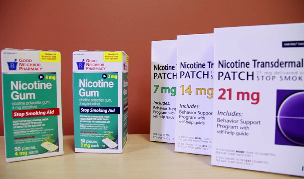Prescriptions for nicotine - quit smoking