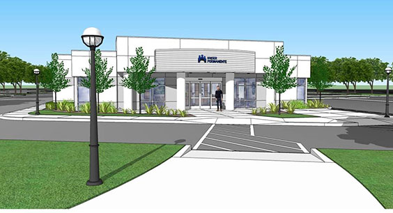 Spruce Medical Office Building Artists Rendering