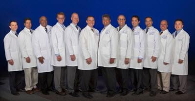 Group photo of the Greater Sacramento Neurosurgeons