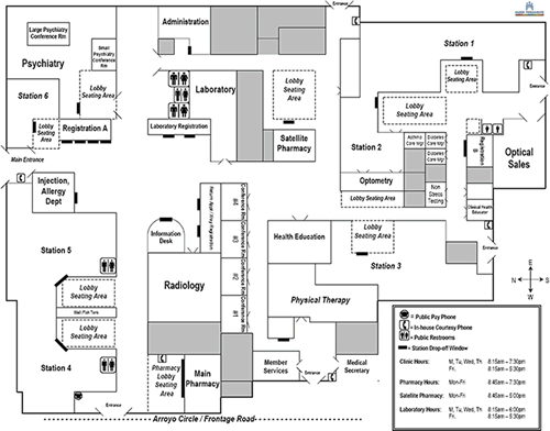 Kaiser San Leandro Campus Map.Pharmacy Pharmacy Locations Kaiser Permanente San Jose