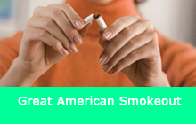 Great American Smokeout. Make a commitment to quit.