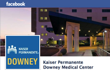 Like us to find out the latest about Downey Medical Center on our Facebook page.