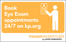 Schedule your appointment for standard eye exams and existing contact lens patients.