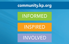 Kaiser Permanente has a newly redesigned website dedicated to helping communities thrive.