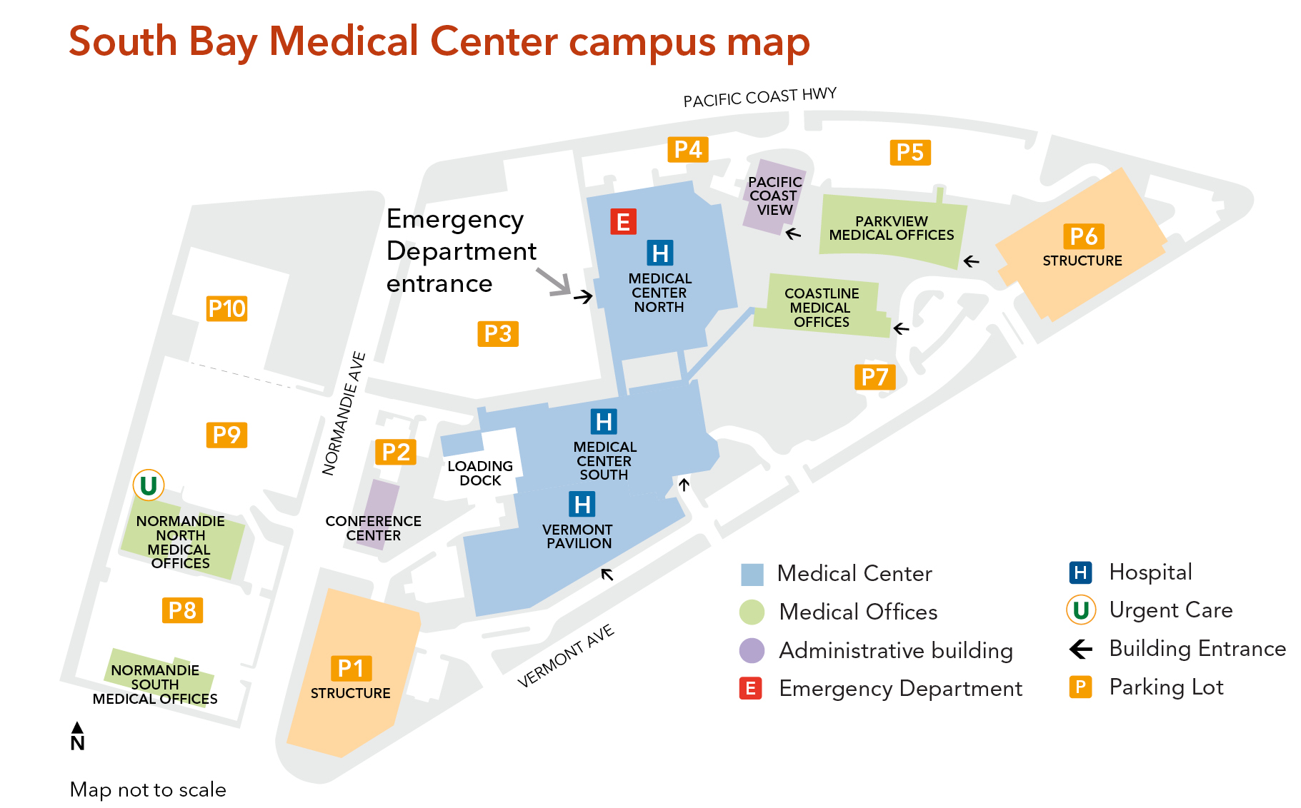 Map Of California Hospitals.Building For The Future South Bay Kaiser Permanente