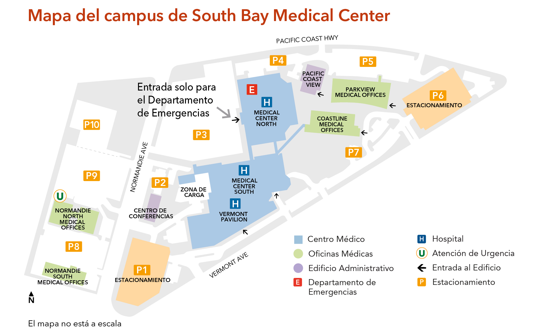 Mission Bay Campus Map.South Bay Medical Center Kaiser Permanente