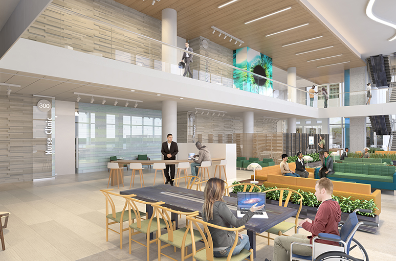 Baldwin Hills Crenshaw Medical Office Building - Interior 1