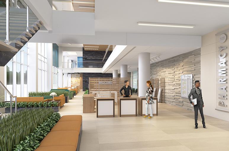 Baldwin Hills Crenshaw Medical Office Building - Interior 2